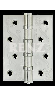 Петли универсальные RENZ - DECOR FL 100-4BB FH (хром)