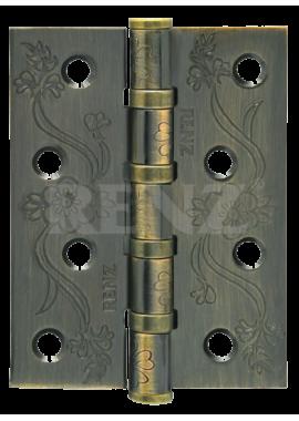 Петли универсальные RENZ - DECOR FL 100-4BB FH (бронза)