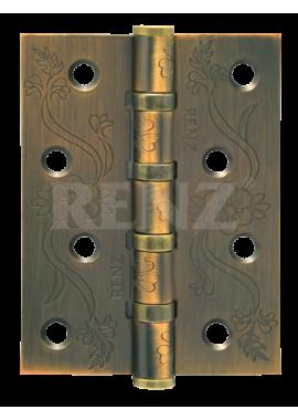 Петли универсальные RENZ - DECOR FL 100-4BB FH (кофе)