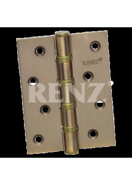 Петли универсальные RENZ - 100 4BB (кофе)