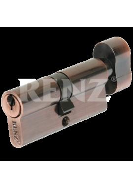 Цилиндровый механизм RENZ - CS 70-H (медь)