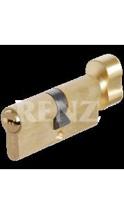Цилиндровый механизм RENZ - CC 70-H (латунь матовая)