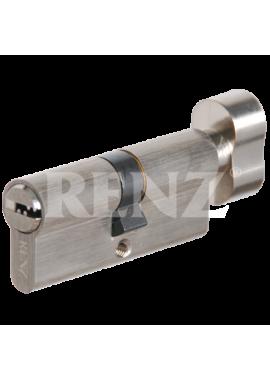 Цилиндровый механизм RENZ - CC 70-H (никель)