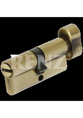 Цилиндровый механизм RENZ - CC 70-H (бронза)