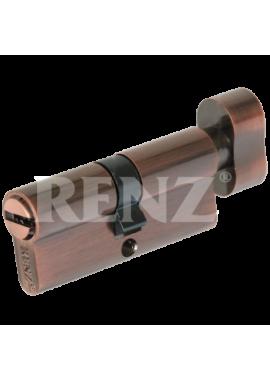 Цилиндровый механизм RENZ - CC 70-H (медь)