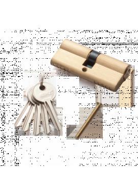 Цилиндровый механизм RENZ - CS 70 (латунь матовая)