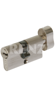 Цилиндровый механизм RENZ - CC 60-H (никель)