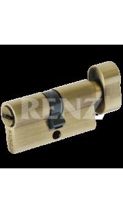 Цилиндровый механизм RENZ - CC 60-H (бронза)