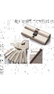 Цилиндровый механизм RENZ - CC 60 (никель)