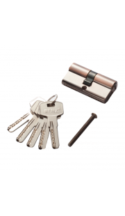 Цилиндровый механизм RENZ - CC 60 (медь)