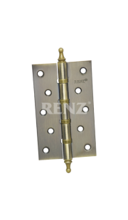 Петли универсальные RENZ - 125-4BB CH (бронза)