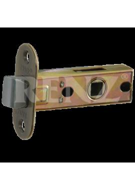 Защелка межкомнатная RENZ - L 5-45 oval (бронза)