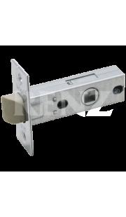 Защелка межкомнатная RENZ - L 5-45 plastic (хром)