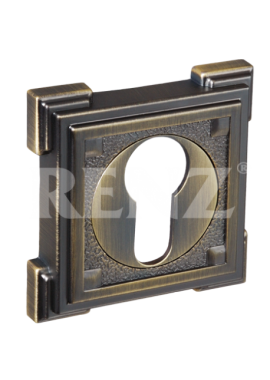 Накладка на цилиндр RENZ - ET 19 (бронза)