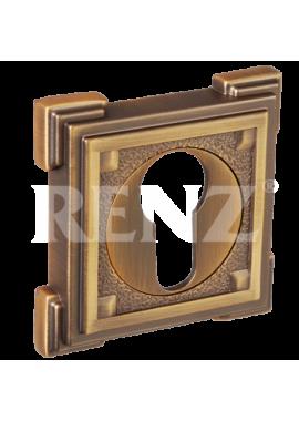Накладка на цилиндр RENZ - ET 19 (кофе)