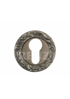 Накладка на цилиндр RENZ - ET 20 (серебро античное)