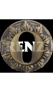 Накладка на цилиндр RENZ - ET 10 (бронза матовая)