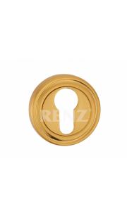 Накладка на цилиндр RENZ - ET 16 (золото)
