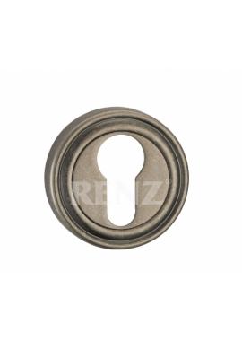 Накладка на цилиндр RENZ - ET 16 (серебро античное)