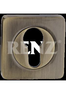 Накладка на цилиндр RENZ - ET 02 (бронза)
