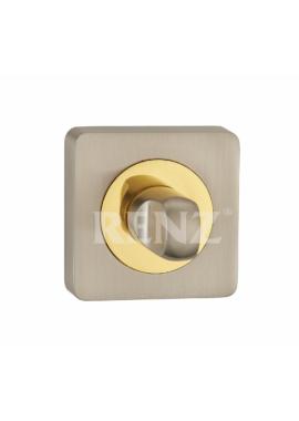 Завертка к ручкам RENZ - BK 02 (хром/золото)