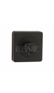 Завертка к ручкам RENZ - BK 02 (черная бронза с патиной)