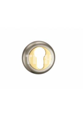 Накладка на цилиндр TIXX - ET 04 (золото/хром)