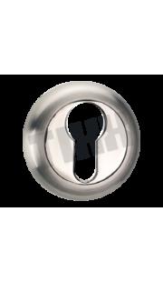 Накладка на цилиндр TIXX - ET 04 (хром)
