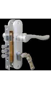 Комплект дверной TIXX - LH 70-37-127 (хром)