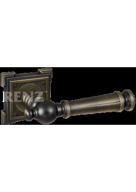 Ручка дверная RENZ - Валенсия (бронза античная матовая)