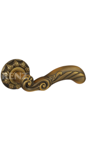 Ручка дверная RENZ - Паола (кофе)