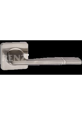 Ручка дверная RENZ - Риволи (никель матовый)