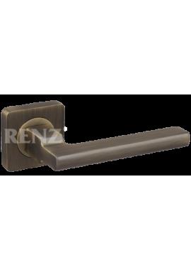 Ручка дверная RENZ - Рим (бронза античная матовая)