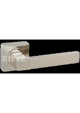 Ручка дверная RENZ - Милан (никель матовый/блестящий)