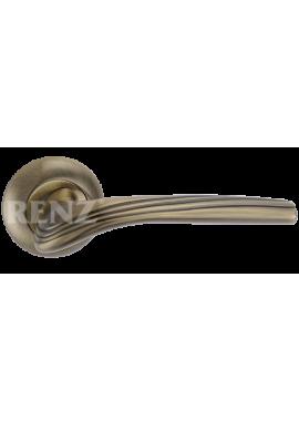 Ручка дверная RENZ - Фабрицио (бронза античная)