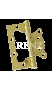 Петли без врезки RENZ - 100 2BB (латунь)