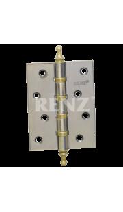 Петли универсальные RENZ - 100 4BB (хром)