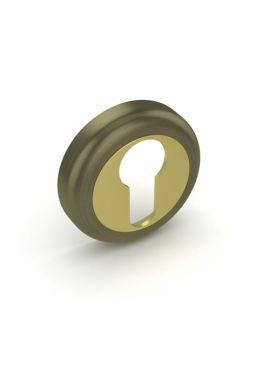 Накладка на цилиндр Fuaro - ET ZM (бронза/латунь)