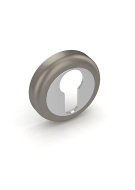 Накладка на цилиндр Fuaro - ET ZM (мат. никель/хром)