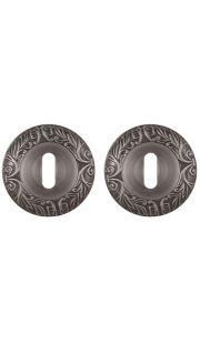 Накладка на цилиндр Fuaro - PS SM (античное серебро)