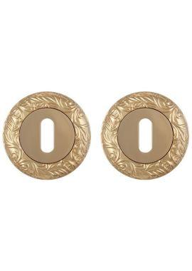 Накладка на цилиндр Fuaro - PS SM (золото)