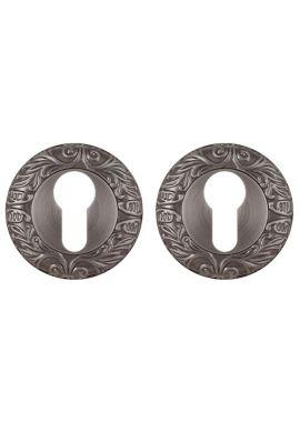 Накладка на цилиндр Fuaro - ET SM (античное серебро)