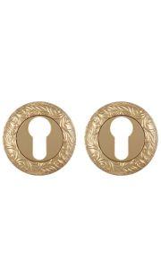 Накладка на цилиндр Fuaro - ET SM (золото)