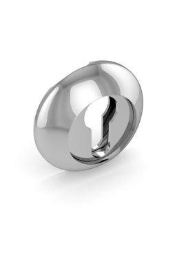 Накладка на цилиндр Fuaro - ET RM (хром)