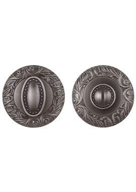 Завертка к ручкам FUARO - BK6 SM (античное серебро)
