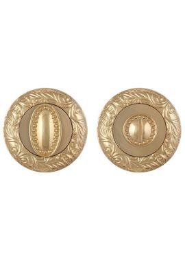 Завертка к ручкам FUARO - BK6 SM (золото)
