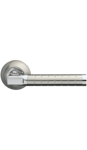 Ручка дверная ARMADILLO - Eridan (матовый никель/хром)