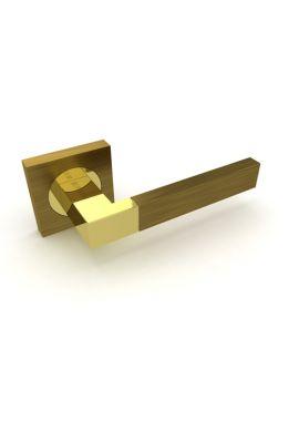 Ручка дверная FUARO - Ethno (бронза)