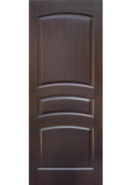 Двери из массива сосны - г.Поставы ПМЦ ДГ №16 (темный лак)