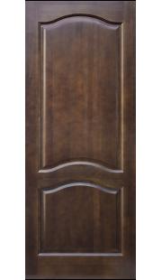 Двери из массива сосны - г.Поставы ПМЦ ДГ №7 (темный лак)